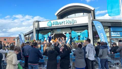 Feestelijke opening Albert Heijn Danslaan