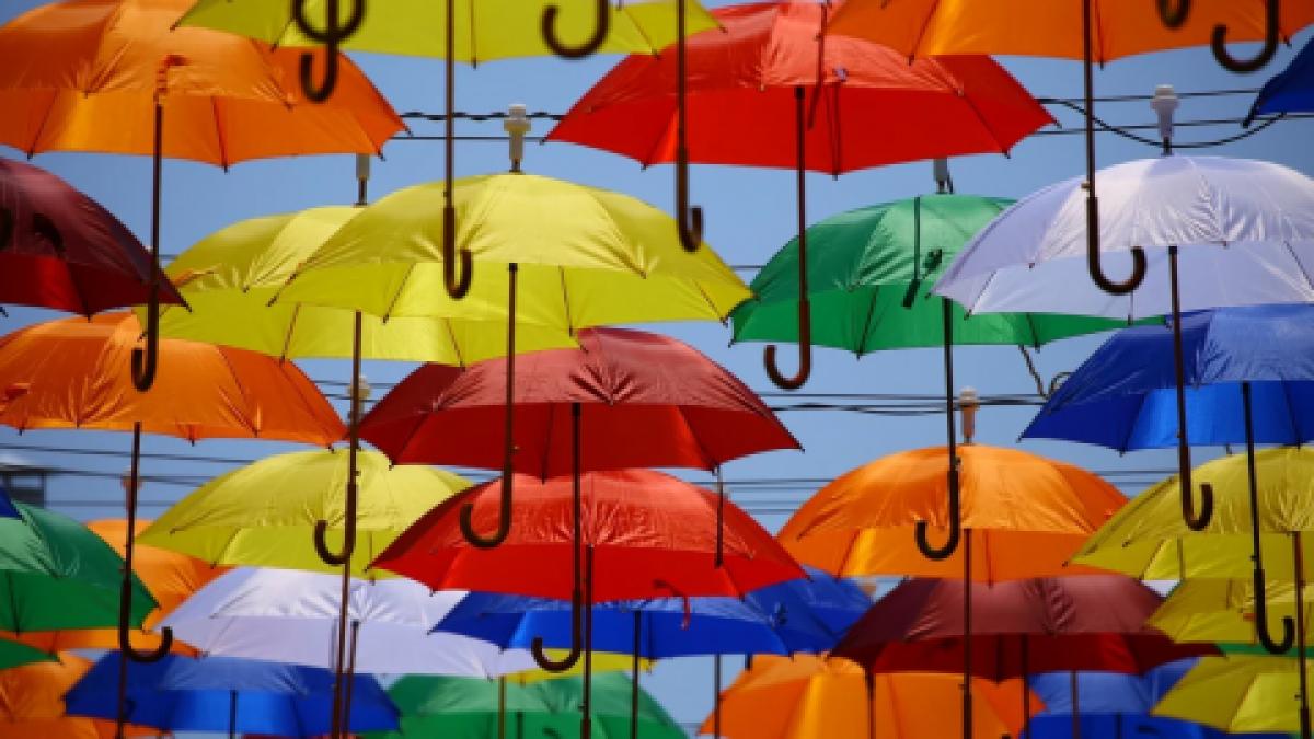 Kies zorgvuldig je paraplu uit