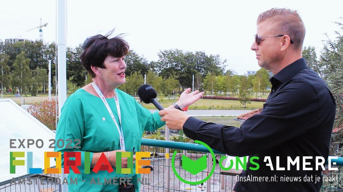 Floriade Expo Preview deel 2: Marga Kleinenberg -Supervisor Floriade Preview