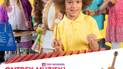 Ontdek muziek! Startercursus voor jonge muzikantjes!