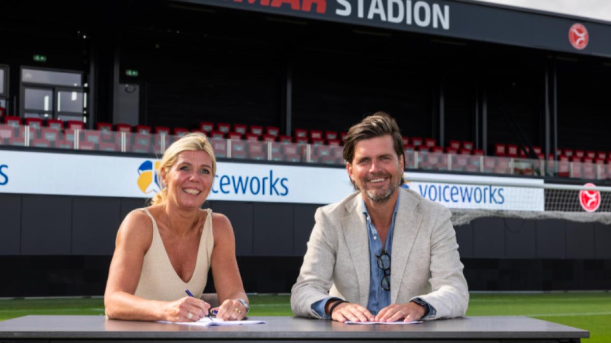 Voiceworks officieel innovatiepartner van Almere City FC