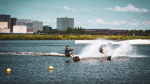 Heb jij waterskiën of wakeboarden voor 2 personen t.w.v. 90,00 euro gewonnen? Check je mail!