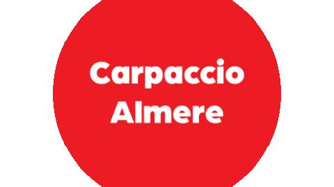 Heb jij het special menu B + fles wijn van Carpaccio Almere gewonnen? Check je mail!