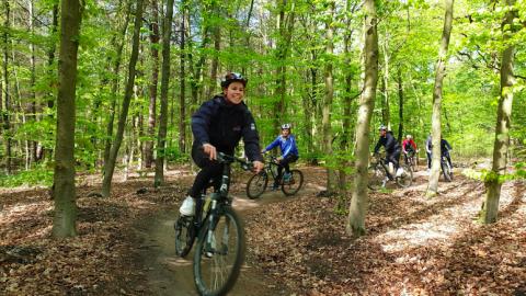 Mountainbiken, heerlijk actief!