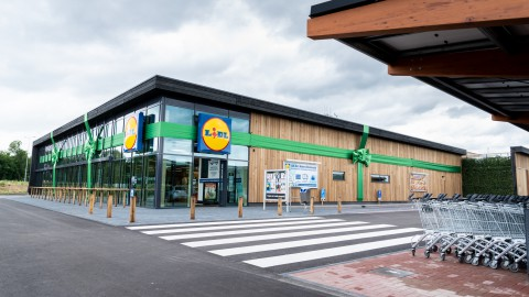 Lidl opent de duurzaamste supermarkt van Nederland in Oosterwold