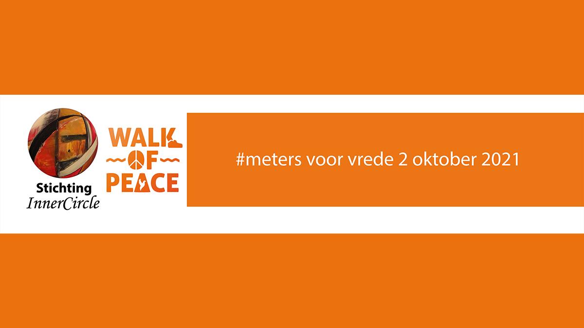 Walk of Peace 2021 verzamelt #metersvoorvrede in Almere op 2 oktober 2021