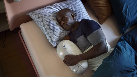 Test de allereerste slaaprobot ter wereld!
