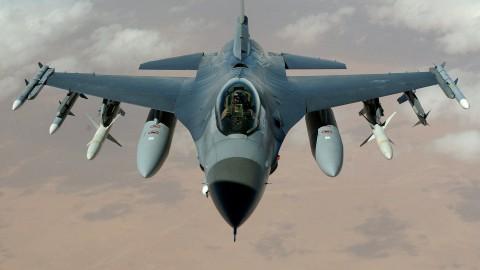 F16's onderscheppen Cessna boven Flevoland