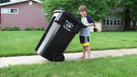 Afvalprobleem in Poort blijft wel even bestaan