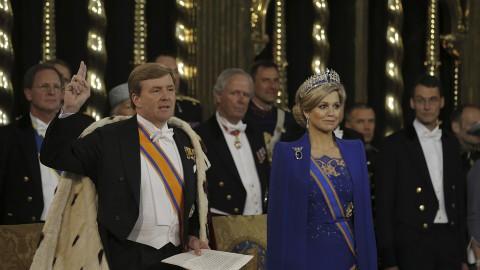 Koning en Koningin bezoeken RIVM in Bilthoven