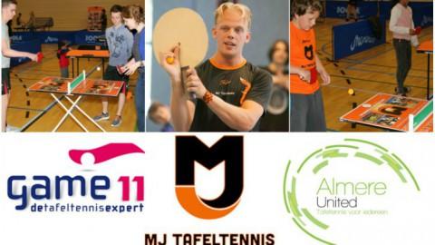 Tafeltennissen voor jong & oud in Almere: Open avond!