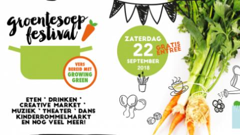Groentesoep Festival in Centrum Buiten