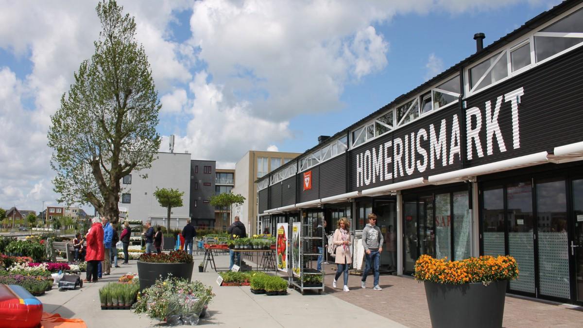 Feestelijke opening buurtmarkt Homeruskwartier 6 oktober 2018