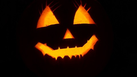 Honderden mensen rennen mee met griezelige Halloweenrun