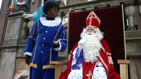 Stralend welkom voor Sinterklaas in Almere Haven