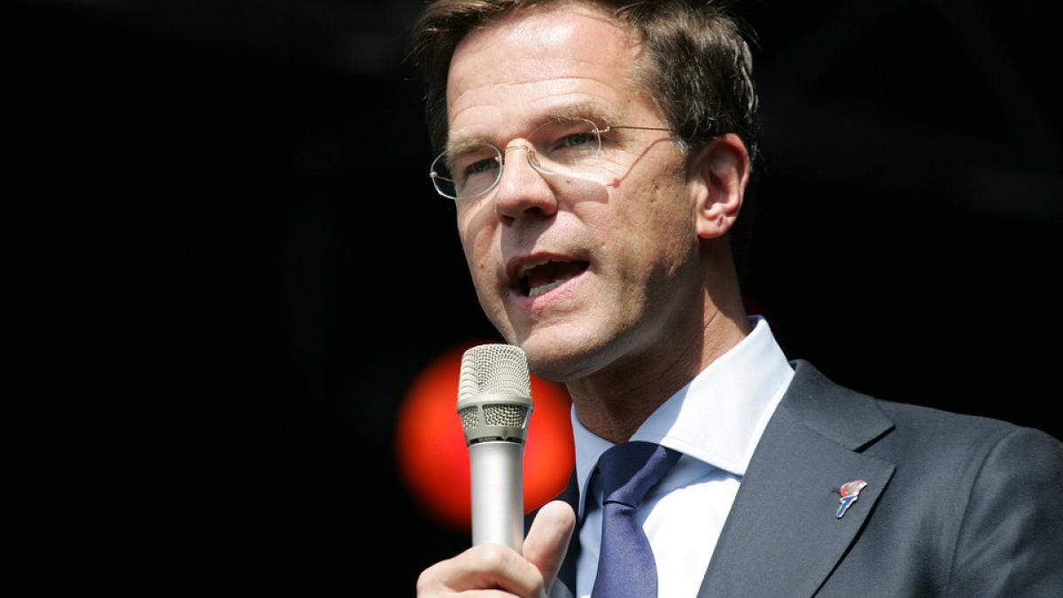 Premier Rutte bezoekt Digg'Out