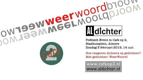 Interactieve poëziemiddag in hartje Almere