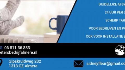 Loodgietersbedrijf S.K. Fleur is uw loodgietersbedrijf in Almere!