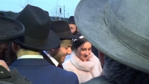 Eerste traditionele Joodse bruiloft in Almere