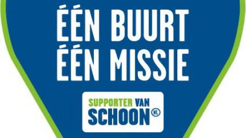 Vandaag is de Landelijke Opschoondag, natuurlijk ook in Almere op de Grote Markt