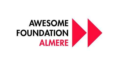 Awesome Foundation Almere geeft in 2019 weer een paar duizend euro weg
