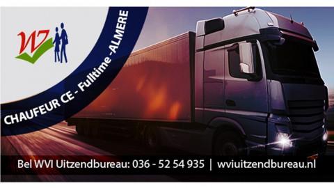 Fulltime CE Chauffeur Almere