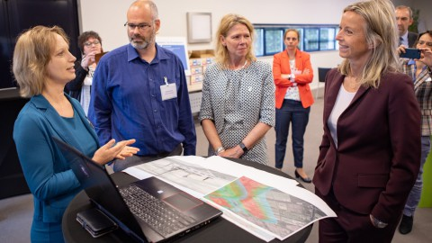 Platform Omgevingswet Flevoland centraal bij werkbezoek Minister Ollongren