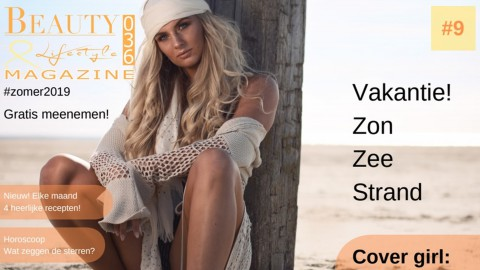 Ons Almere in het Beauty & Lifestyle Magazine 036 - zomereditie