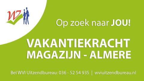 Magazijn medewerker (vakantiekracht) - Almere