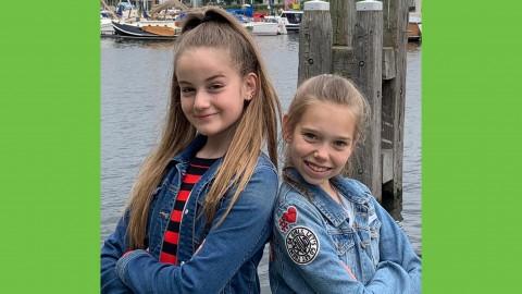 Twee jonge onderneemsters (11 en 12 jaar oud) stellen hun bedrijf KD Line 2.0 graag voor!