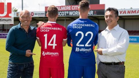 Ultimum ook dit jaar weer shirtsponsor Almere City FC