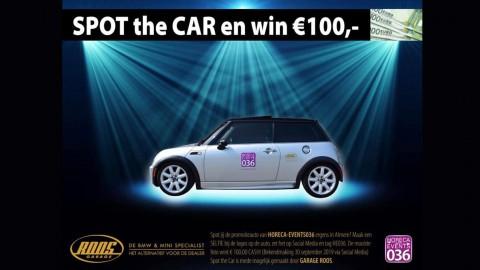 SPOT the CAR en win € 100,00