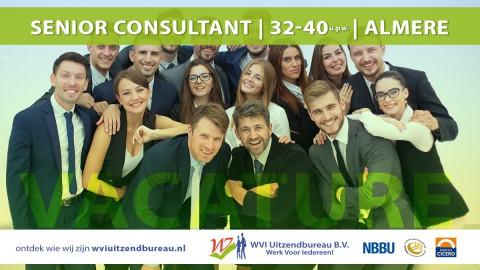 Senior Consultant Werving & Selectie | 32-40 uur p.w. | Almere