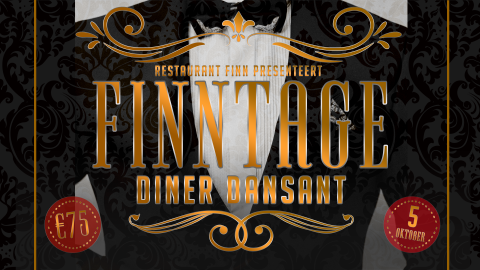 Kom naar het Finntage Diner Dansant op zaterdag 5 oktober!