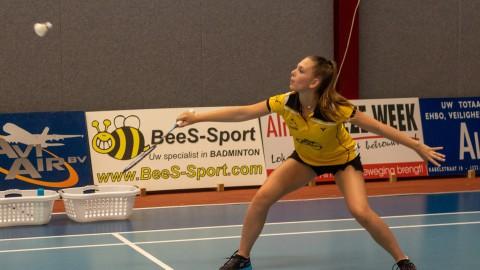 AviAir pakt koppositie eredivisie badminton