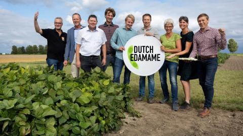 Proef Dutch Edamame - verse soja van Flevolandse bodem