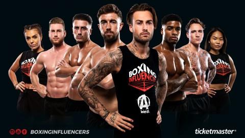 Boxing Influencers is zaterdag 26 oktober in de topsporthal Almere