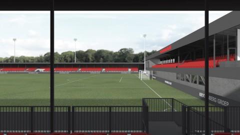 Verbouwing Yanmar Stadion gestart