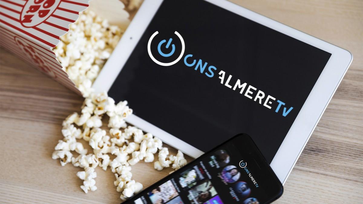 Binnenkort komt Ons Almere TV beschikbaar, doe mee met de Filmwedstrijd!