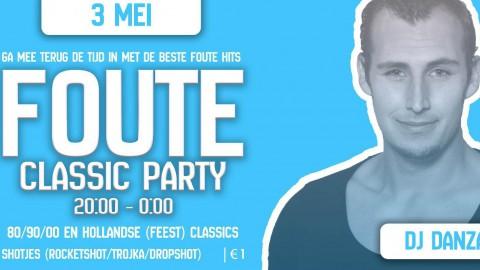 Foute Classic party (80s/90s/00s en Hollandse (feest) classics!