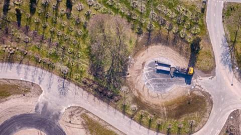Op 45 meter hoogte uitkijken op Floriade