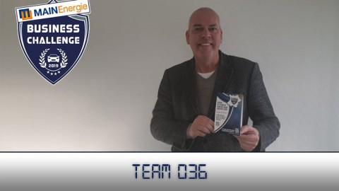 Team 036 staat bovenaan in de top drie van de Business Challenge van deze week!