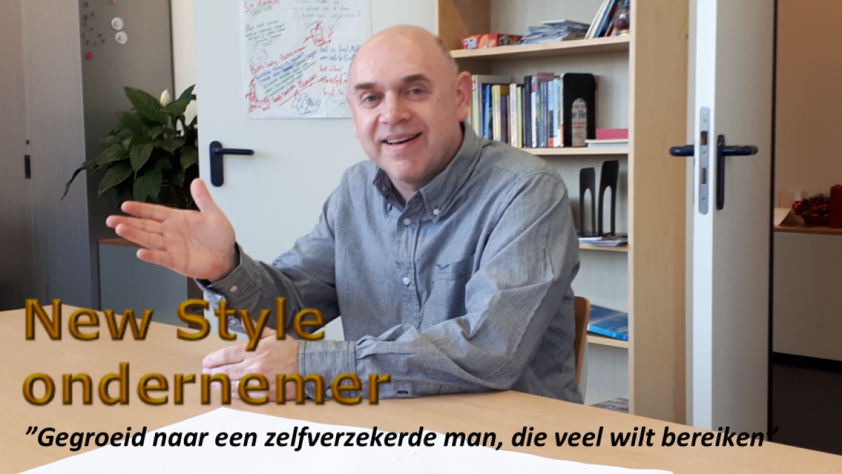 Vandaag New Style ondernemer Richard Jeltema in the picture...