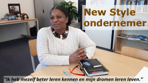 Vandaag New Style ondernemer Haidy Lobles  in de picture...