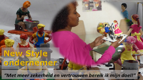 New Style ondernemer Solange Concincion in the picture…