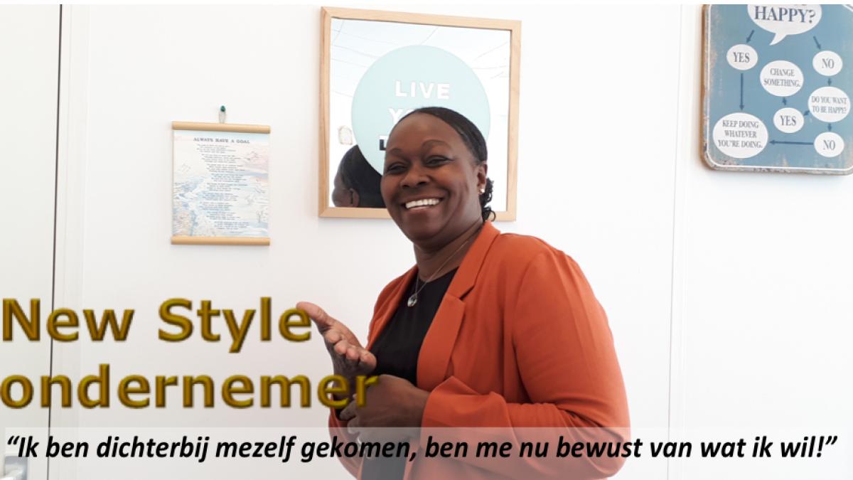 Vandaag New Style ondernemer Elfriede Lila in de picture...