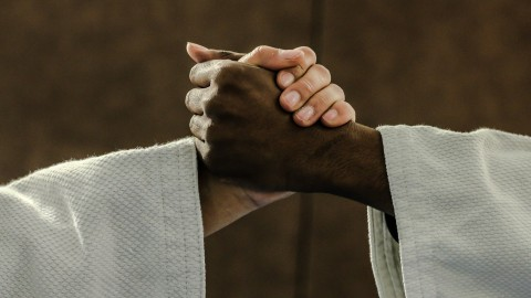 NK judo -21 in Topsportcentrum Almere