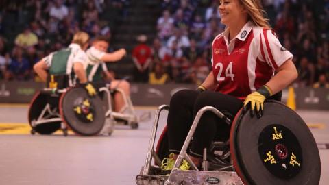 Najaden gestart met rolstoelhandbal