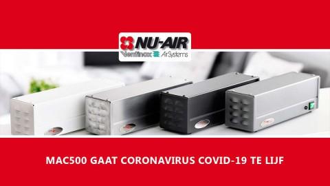 MAC500 GAAT CORONAVIRUS COVID-19 TE LIJF