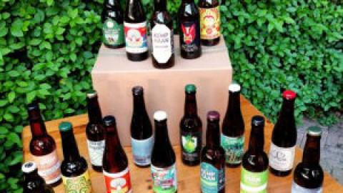 Flevolandse brouwerijen verzameld in de FlevoBierBox